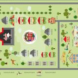 Sarasotai Magyar Fesztival térkép