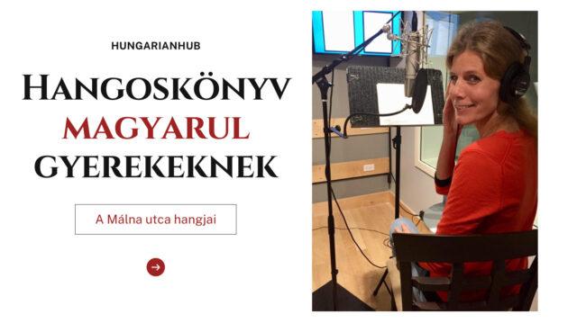 Hangoskönyv magyarul gyerekeknek