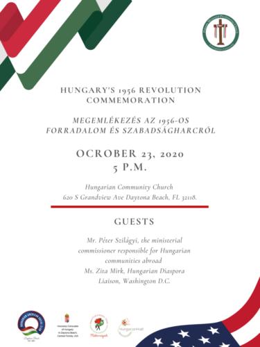Hungary's 1956 Revolution Commemoration Megemlékezés az 1956-os Forradalom és Szabadságharcról (1)